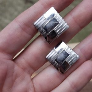 Other - Vintage Sterling silver square cuff links